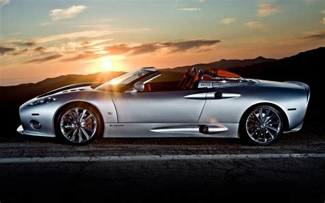 wallpapers of beautiful cars spyker c8 aileron spyder