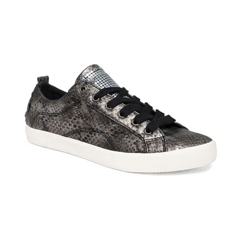 womens guess sneakers g by guess womens metty sneakers in animal black snake