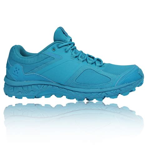 waterproof trail running shoes womens haglofs womens gram am q blue tex waterproof trail