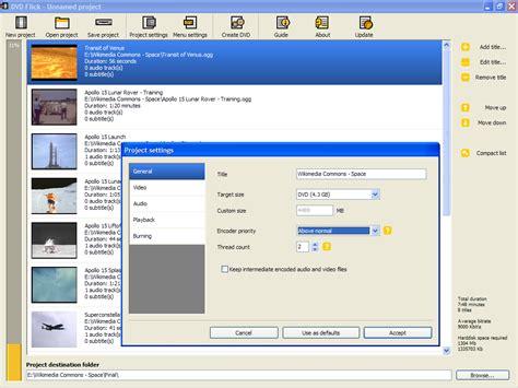 dvd format software windows xp dvd flick wikipedia