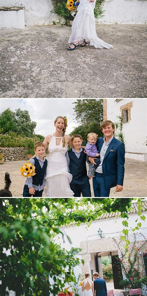 An Intimate Rustic Wedding In Seville Spain With Bride In