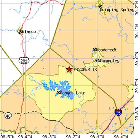 driftwood texas map fischer texas tx population data races housing economy