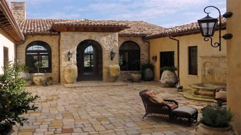 house plans mediterranean courtyard
