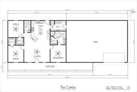 metal shop with living quarters floor plans metal buildings steel buildings and floor plans on pinterest