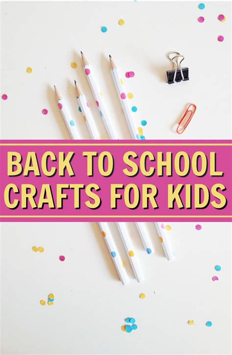 back to school crafts for back to school craft ideas for a craft in