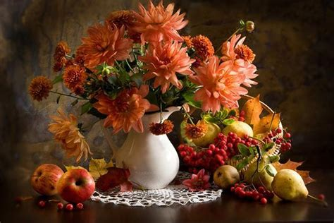 colorful home decorating  fall flowers inspiring fall