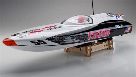 nitro rc boats fast exceed racing boat electric powered fiberglass p1 arpro