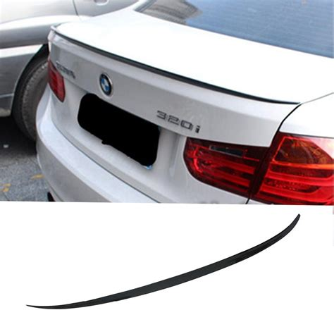 one spoilers f30 f35 m3 styling carbon fiber car rear trunk boot