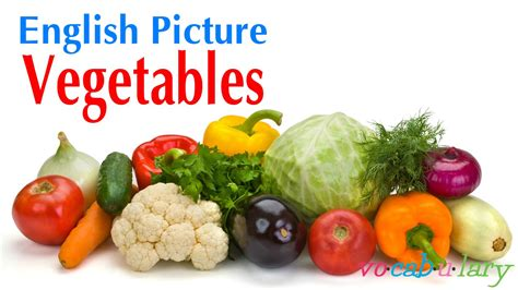 3 vegetables name picture lesson 3 name of vegetables