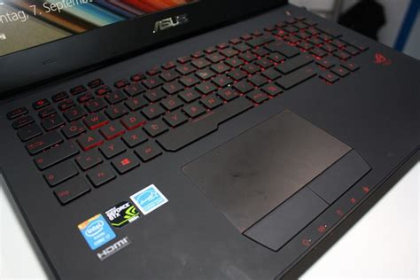 Asus Gaming Laptop Rog G751 asus rog g751 high end gaming laptop with nvidia geforce gtx 980m incoming