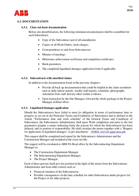 Contract Closeout Letter Advanced For Construction Management Contracts Management P