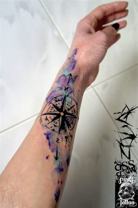 easy tattoo colors to remove compass tattoos for men ideas and designs for guys