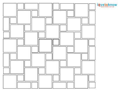 tile layout template 5 popular ceramic tile laying patterns lovetoknow
