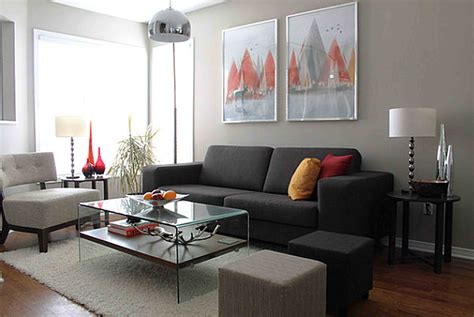 contemporary small living room decoration gray sofa decobizz com grey velvet sofa living room ideas nakicphotography