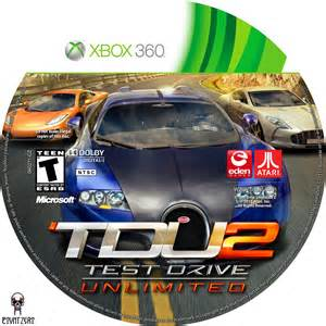 Test Drive Test Drive Unlimited 2 Cars Xbox 360