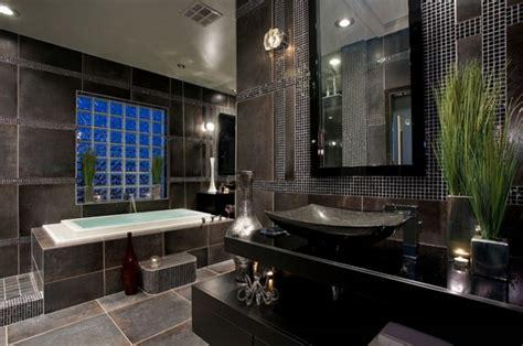 Graues Badezimmer Dekorieren by Luxus Badezimmer In Schwarz Der Neue Trend
