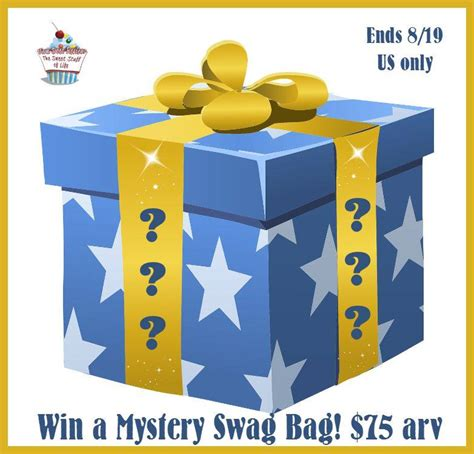 Swag Bag Giveaway - mystery swag bag giveaway 75 value
