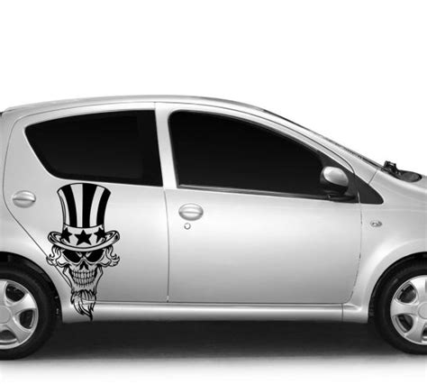Auto Kaufen Amerika by Autoaufkleber Skelett Skull America Amerika Usa
