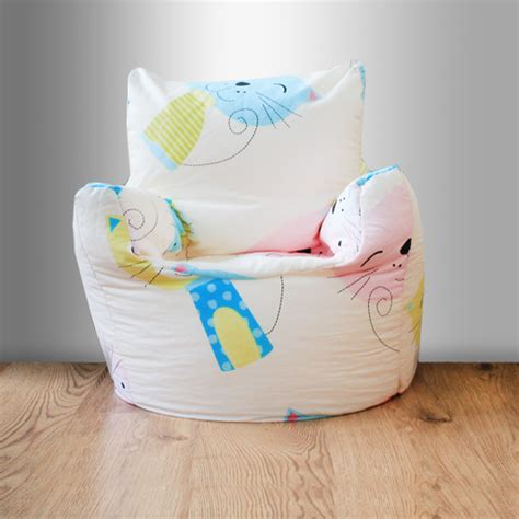 cat bean bag chair children s beanbag chair cat nap kittens bedroom