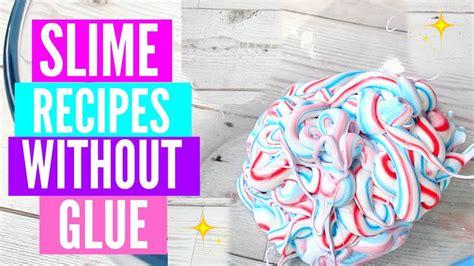 slime  glue  cheap diy slime recipes youtube