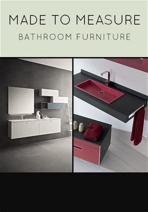 Bathroom Furniture Basin Cabinets Wall Storage Made To Measure Bathroom Furniture