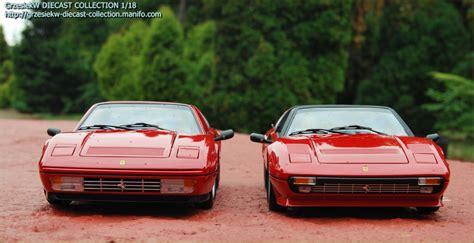 Ferrari 308 GTS QV vs. 328 GTS Kyosho x 2 :: Diecast