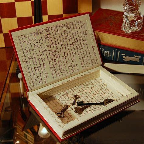secret books hollow book secret safe diary of frank frank