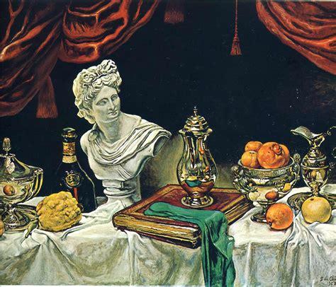 biography of a con artist still life with silver ware 1962 giorgio de chirico