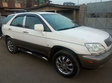 Pimped Lexus Rx 300 For Urgent Sale Autos Nigeria