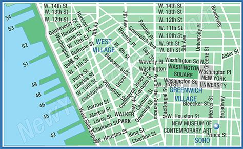 map of new york villages map of grenwich
