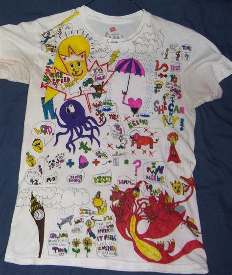 Painting T Shirts With Sharpies by 28 Diy Sharpie T Shirts Shoes And Pillows Sharpie