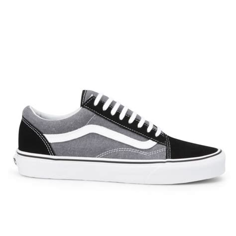 Vans Oldskool Chambray Addict3d vans s skool suede chambray trainers black free uk delivery allsole