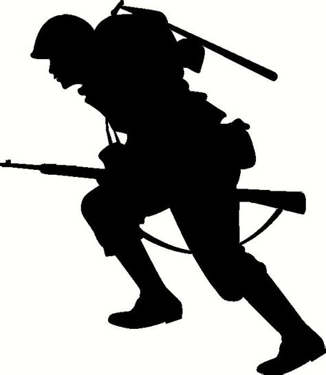 Camouflage Bedrooms running soldier wall sticker vinyl decal the wall works