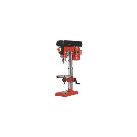 bench mounted pillar drill sealey pillar drill bench 12 speed 840mm tall 370w 230v