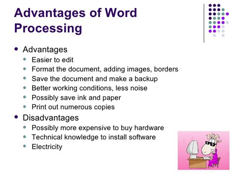 Benefit Of Change Mba To Ms by Word Processing Slides