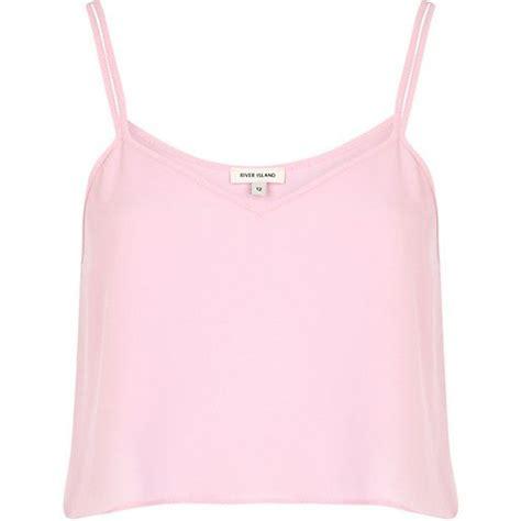 light pink cami crop top riverisland clothes