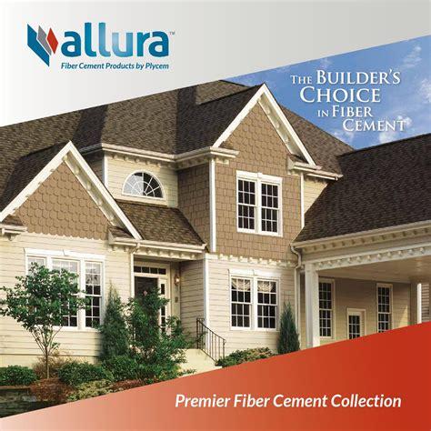 allura fiber cement siding allura premier fiber cement siding brochure 2016 by meek s