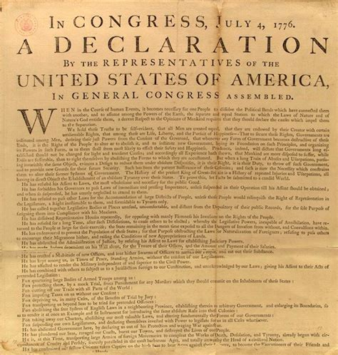 written sections of the declaration of independence united states declaration of independence the well