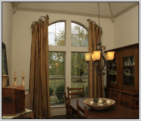 Arched Window Treatments Ideas Window Treatments For Arched Windows Home Design Ideas