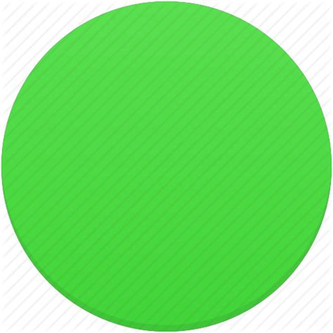 Greenlight Circle Basic circle green trafficlight icon icon search engine
