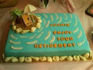 cakes n goodies joanie s retirement cake