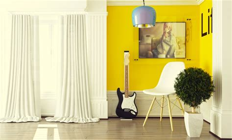 Yellow Decor | yellow room interior inspiration 55 rooms for your