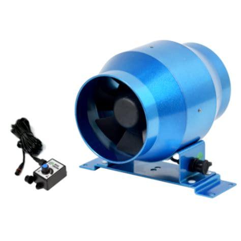 Hot Duct Ec Inline Fan Mixed Flow Fan For Hydroponics 4