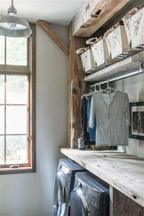 beaucatcher barn home rustic laundry room other by