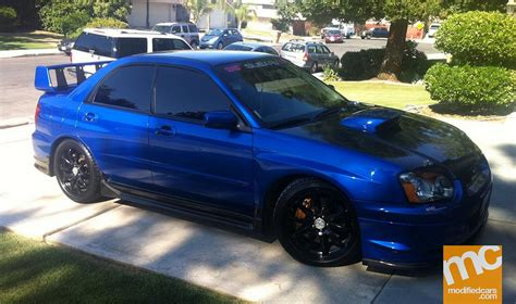 modified subaru impreza modified subaru impreza wrx sti 2004 modified cars