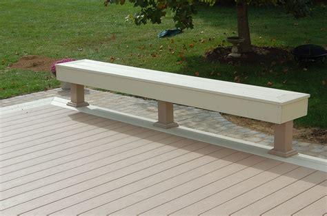 azek bench low maintenance deck contractor in gaithersburg md azek