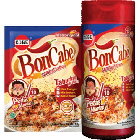 Bon Cabe Level 10 Sachet boncabe level 10 rasa original boncabe