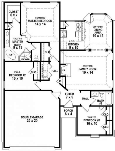 3bedroom 2bath house plans marvelous 2 bedroom 2 bath house plans glitzdesign
