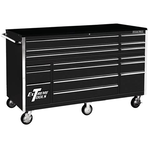 roller cabinet tool box extreme tools thd series 72 in 16 roller cabinet