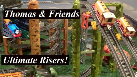 how to layout in ultimate thomas and friends toy train trackmaster ultimate risers